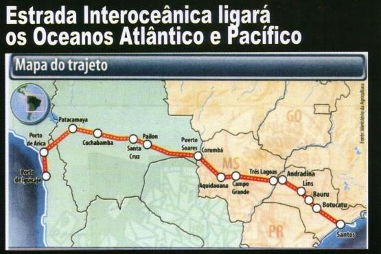 a ferrovia mapa